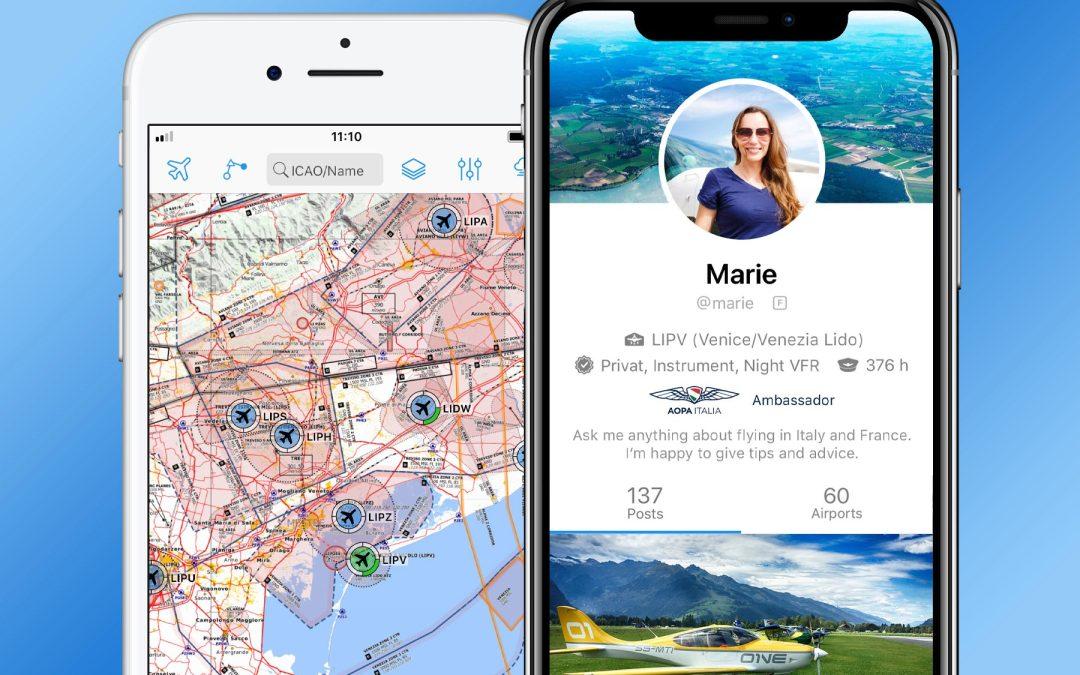 Parte la collaborazione di AOPA Italia con RunwayMap