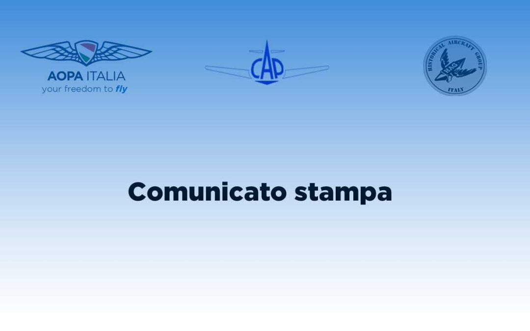 AOPA, CAP e HAG insieme a sostegno dell'Aviazione Generale e Leggera