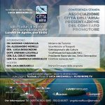 Conferenza Stampa di Presentazione dell'Associazione Città dell'Aria