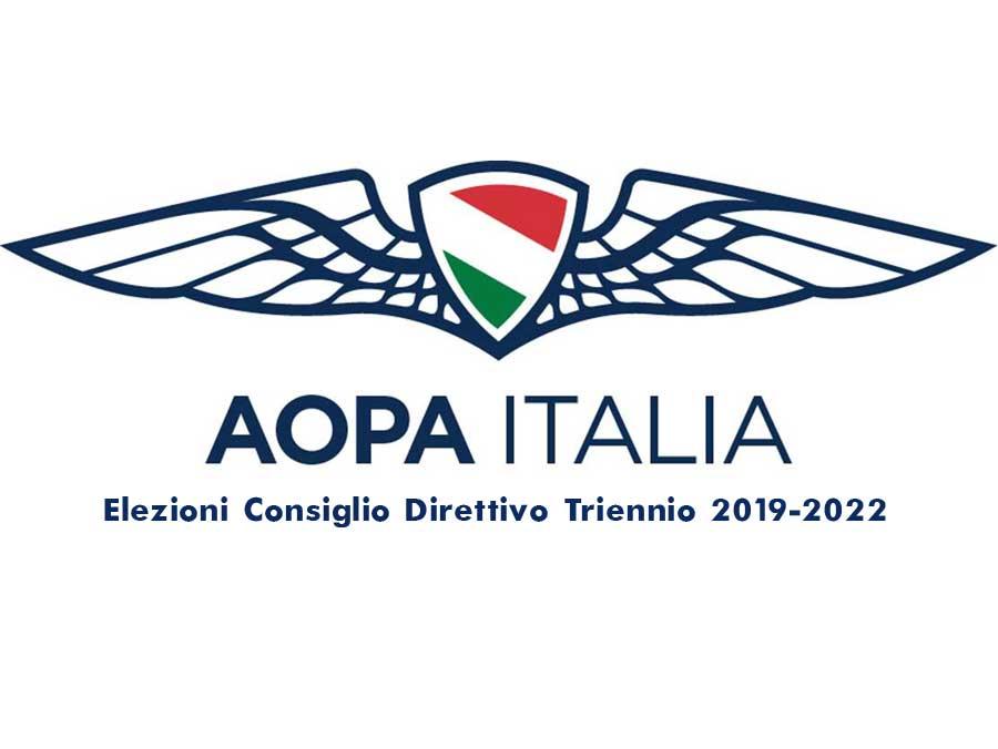 Elezioni Consiglio Direttivo triennio 2019-2022